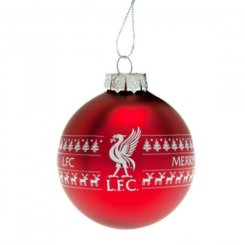 Liverpool F.C. Large Nordic Bauble
