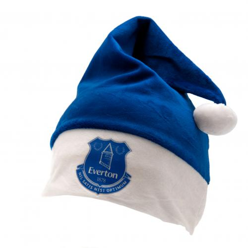 Everton F.C. Supersoft Santa Hat