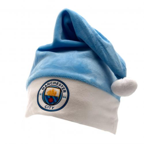 Manchester City F.C. Supersoft Santa Hat