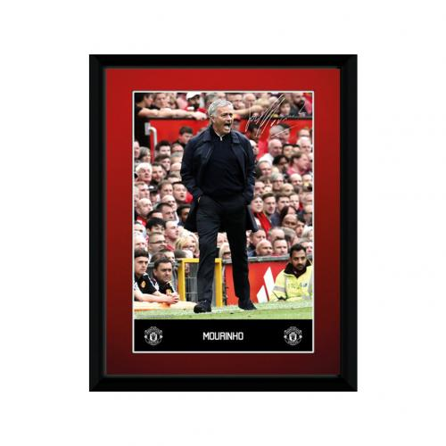 Manchester United F.C. Picture Mourinho 8 x 6