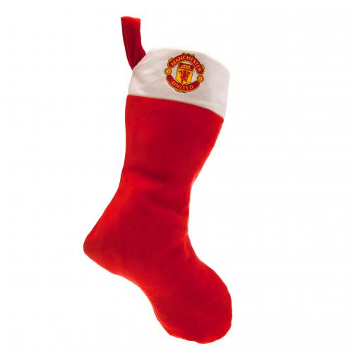 Manchester United F.C. Supersoft Christmas Stocking