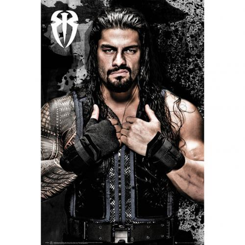 official wwe poster roman reigns  buy   offer