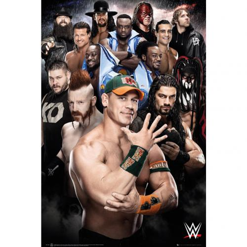 WWE Poster Superstars 234