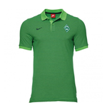 2016-2017 Werder Bremen Nike Authentic League Polo Shirt (Action Green)
