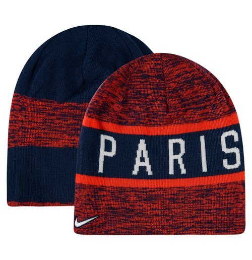 Buy Official 2016 2017 Psg Nike Reversible Beanie Red Navy