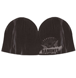 Ramones - Black Ribbed Beanie
