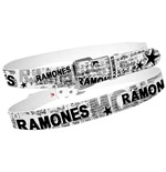 Ramones - White w/ Full News Print Collage