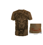 Miami Ink - Brown Tiger T-shirt