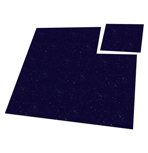 Ultimate Guard Battle-Tiles 1' Dark Space 30 x 30 cm (9)