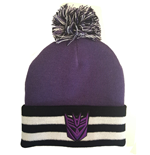 Transformers Pom-Pom Beanie Deception