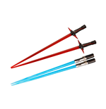 Star Wars Episode VII Chopstick Kylo Ren & Rey Lightsaber Chopstick Battle 2-Set