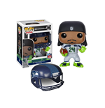 NFL POP! Football Vinyl Figure Marshawn Lynch (Seattle Seahawks) 9 cm