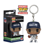 NFL Pocket POP! Marvel Vinyl Keychain Russell Wilson (Seattle Seahawks) 4 cm
