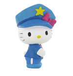 Hello Kitty Mini Figure Hello Kitty Police 6 cm