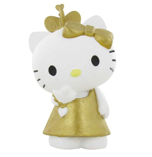 ce2fd4d6f Buy Official Hello Kitty Mini Figure Hello Kitty Gold 6 cm