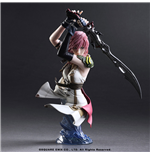 Final Fantasy XIII Static Arts Statue Lightning 17 cm