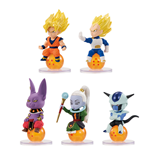 Dragonball Super Charapucchi Figures 6 cm Assortment (10)