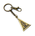 Fantastic Beasts Keychain Macusa (antique brass plated)