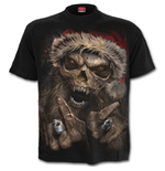 Rock Santa - T-Shirt Black
