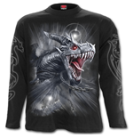 DRAGON'S Cry - Longsleeve T-Shirt Black