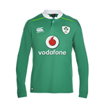 2016-2017 Ireland Home LS Classic Rugby Shirt
