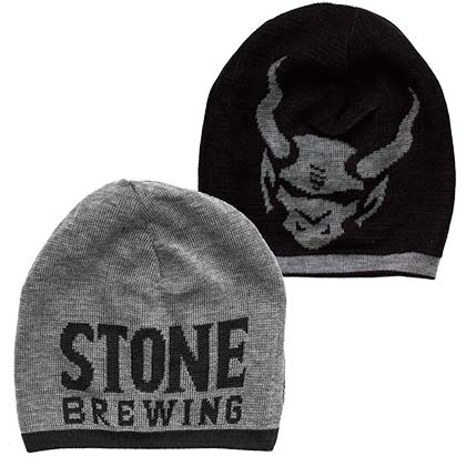 Stone Brewing 20th Anniversary Reversible Beanie