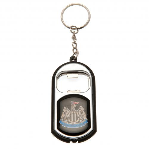 Newcastle United F.C. Key Ring Torch Bottle Opener