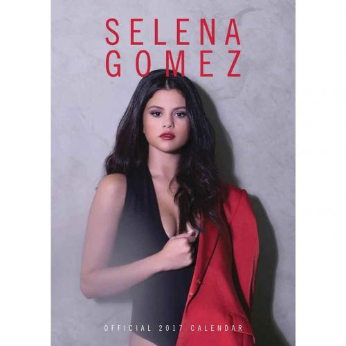 Selena Gomez Calendar 2017 for only £ 3.95 at MerchandisingPlaza UK