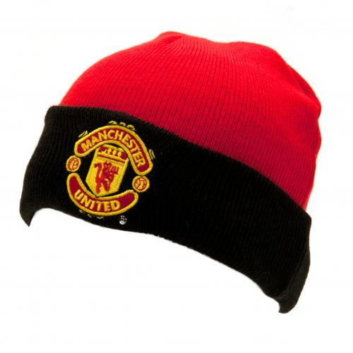 Manchester United F.C. Knitted Hat Junior