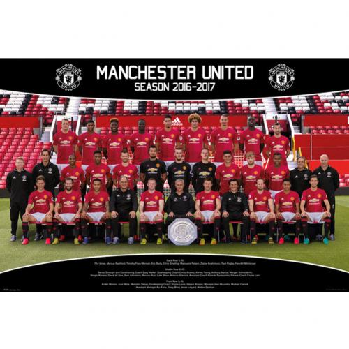 Manchester United F.C. Poster Squad 27