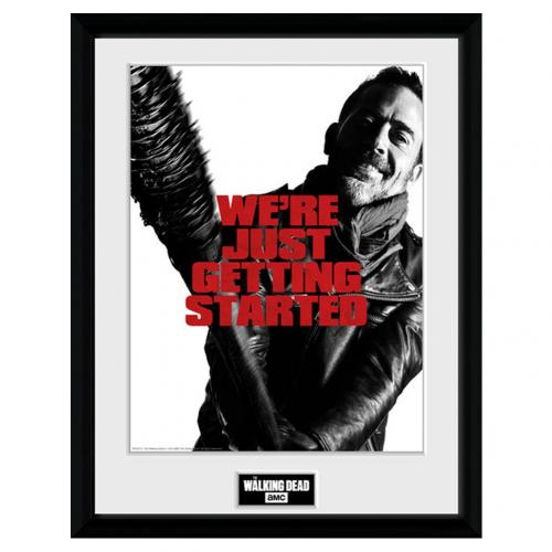 Official The Walking Dead Picture Negan 16 X 12 Buy Online On Offer