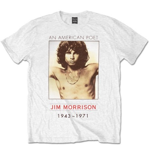 The Doors Men's Tee: American Poet
