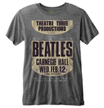 The Beatles Men's Fashion Tee: Carnegie Hall