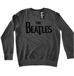 The Beatles Men's Sweatshirt: Drop T Logo