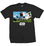 Star Wars Men's Tee: Rogue One AT-AT March