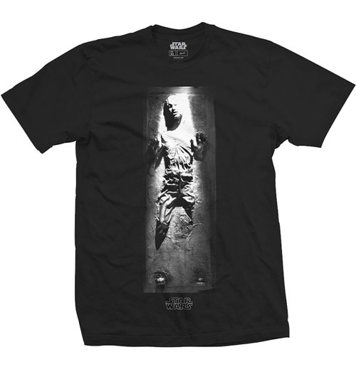 Star Wars Men's Tee: Han in Carbonite