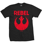 Star Wars Mens Tee: Episode VII Rebel