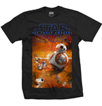 Star Wars Men's Tee: Episode VII BB-8 Composition