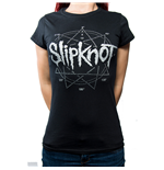 Slipknot Ladies Fashion Tee: Logo Star