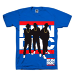 Run DMC Men's Tee: Silhouette