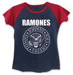 Ramones Ladies Fashion Tee: Presidential Seal
