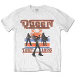 Queen Men's Tee: 1976 Tour Silhouettes