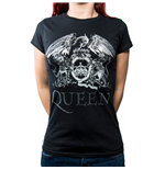 Queen Ladies Fashion Tee: Logo