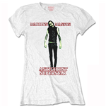 Marilyn Manson Ladies Tee: Antichrist