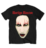 Marilyn Manson Men's Tee: Red Lips