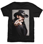 Lemmy Men's Tee: Pointing Photo