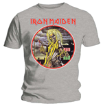 Iron Maiden Men's Tee: Killers Circle