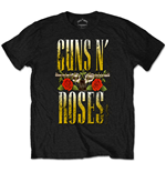 Guns N' Roses Men's Tee: Big Guns