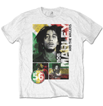 Bob Marley Tee: 56 Hope Road Rasta