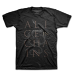 Alice In Chains Men's Tee: Snakes